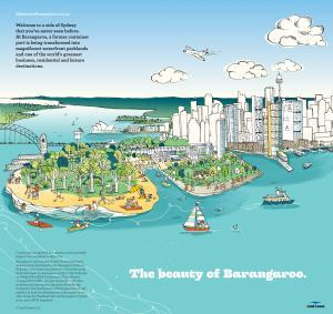 Beauty of Barangaroo