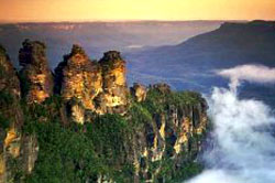 Three Sisters Blue Mountains in Sydney Australia