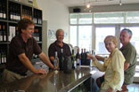 wine tasting hunter valley