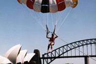 Parasailing on the Harbour