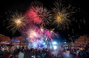 Sydney Fireworks Australia Day