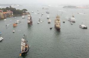 Tall Ships Race Sydney