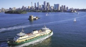 Manly Ferry Sydney Harbour Opera House