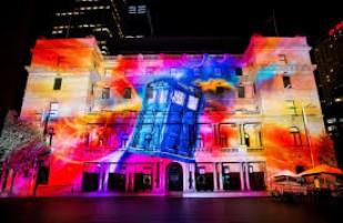 Vivid Festival in Sydney